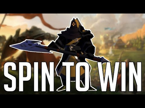 Spin To Win | Greataxe Dungeon Speed Clearing Build | Albion Online PVE Build | Monday Might Build