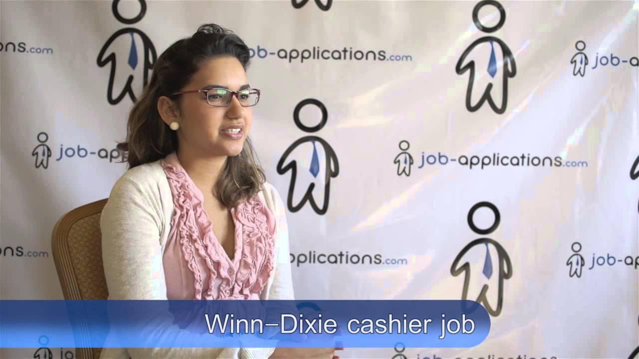 winn dixie interview cashier