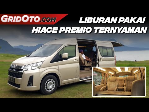 Nyetir dan Nikmati Kabin Mewah Toyota HiAce Premio Luxury Baze | Modifikasi Mobil | GridOto Modif