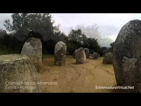 Crómlech de los Almendros. Évora, Portugal