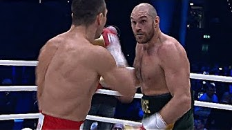 TYSON FURY VS WLADIMIR KLITSCHKO | BEST QUALITY | HIGHLIGHTS [HD]
