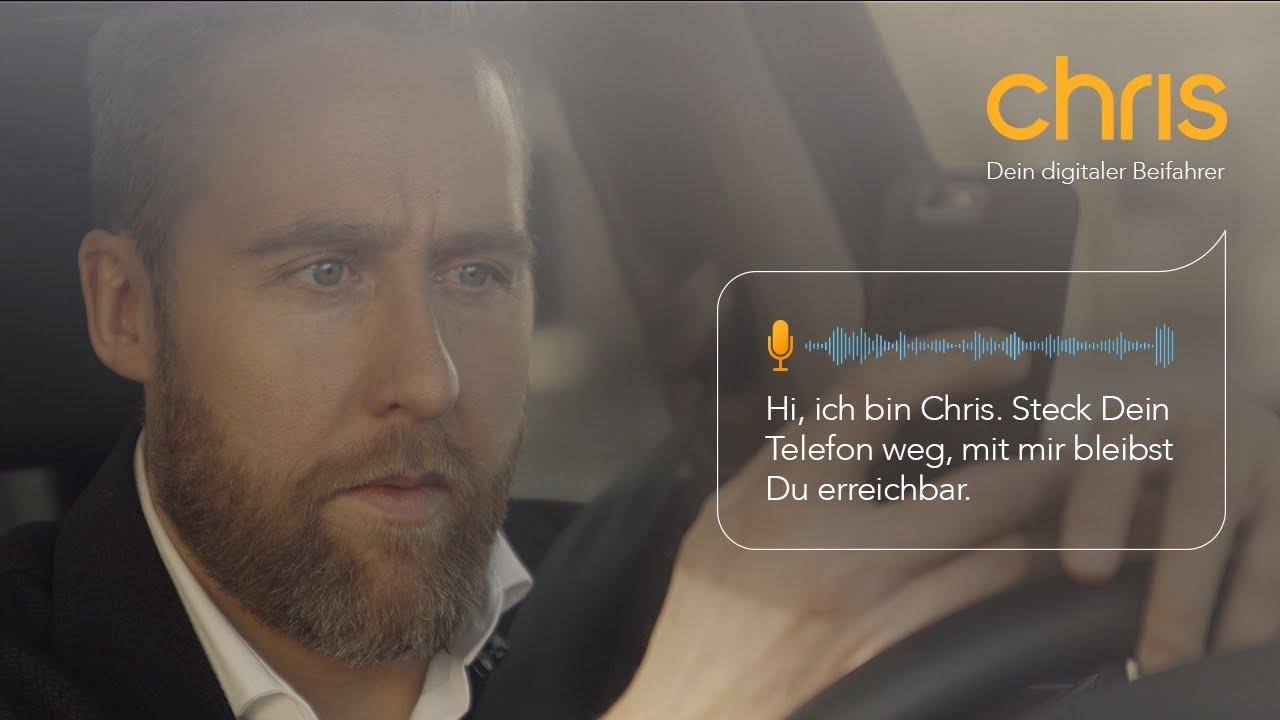 Video: Spät auf dem Weg ins Büro // Chris - Dein digitaler Beifahrer