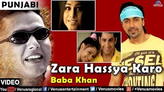 Zara hassya karo | full video song | baba khan | romantic punjabi song 2016 |