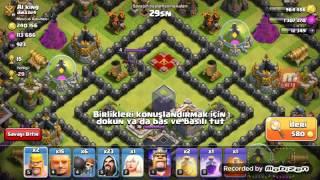 Kralı bastım ! (Clash Of Clans)