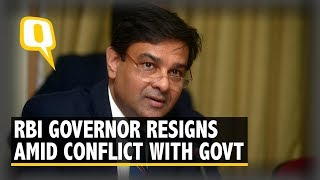 Urjit Patel Steps Down as RBI Governor Amid Conflict With Government | The Quint