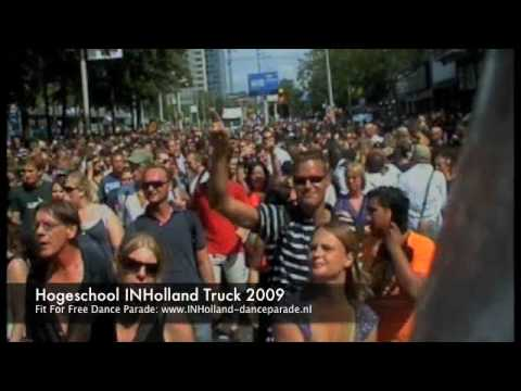 Hogeschool INHolland Truck with Gene Farris Take Me Back Part 2 @ The Dance Parade