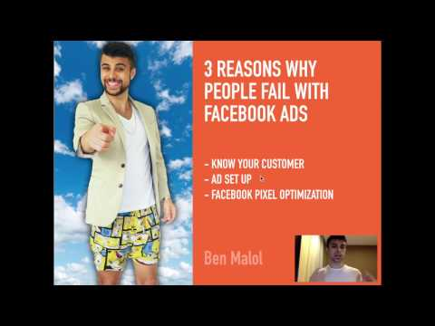 Top 3 Reasons why People Fail with Facebook Ads