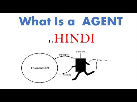 Agent and PEAS Description in hindi |Artificial Intelligence