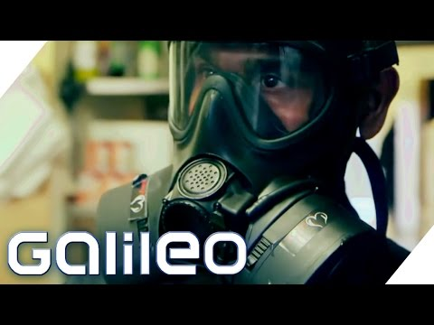 Gasmaskenkoch | Galileo Lunch Break