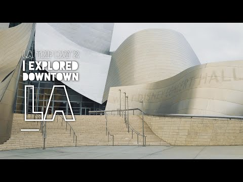 LA Trip Day 2 | Explored around downtown (Grand Central Market & The Broad Museum)