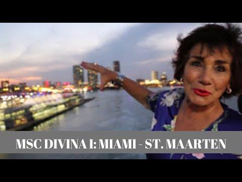 TYH 1584 MSC DIVINA I: MIAMI - ST. MAARTEN