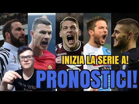 COME PARTONO LE BIG? (Pronostici Serie A)