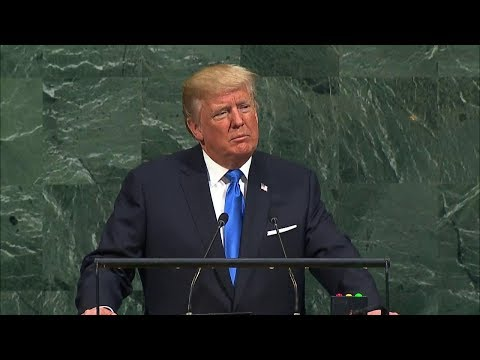 President Trump Addresses the 72nd Session of the UN General