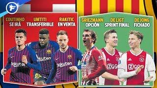 Ça s'agite déjà sur le mercato au Barça | Revue de presse