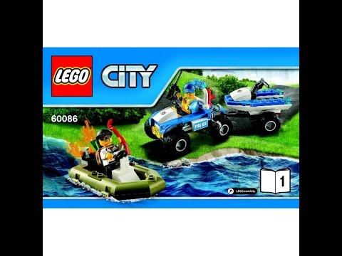 LEGO City Starter Set 60086 Instructions