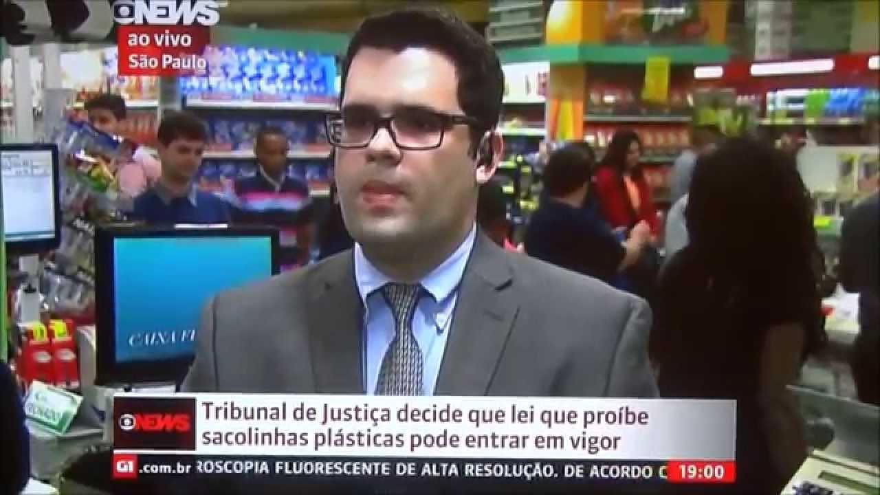 Globo News Jornal Globo News Ao Vivo 08 10 2014 Dr Ricardo Vieira Comenta  Restrição Das Sacolas