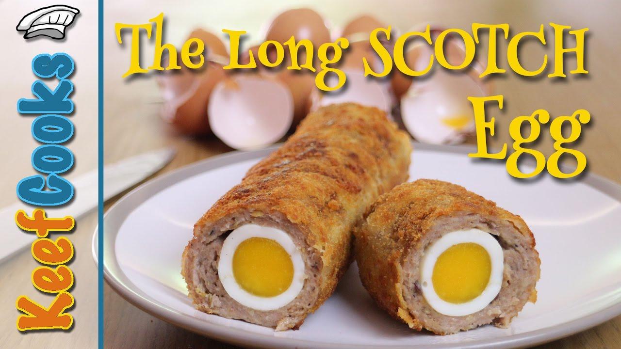 Long Scotch Egg | Long Egg Series - YouTube
