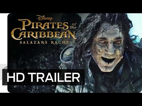 PIRATES OF THE CARIBBEAN: SALAZARS RACHE - 2. offizieller Trailer | Disney HD