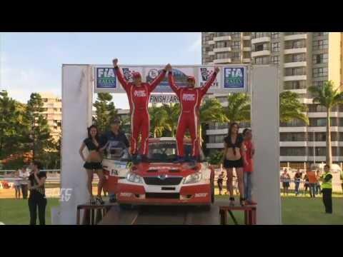 APRC 2012 Gaurav Gill Wins Rally New Caledonia