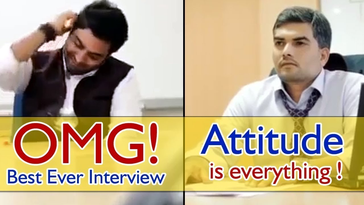 Attitude Is Everything | How to give Interview with Attitude |  Attitude Matters
