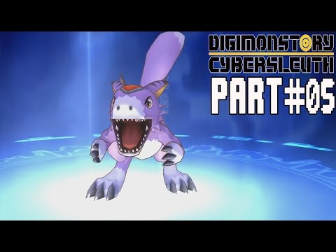 Digimon Story Cyber Sleuth Walkthrough Part 5 Gameplay Lets Play Review
