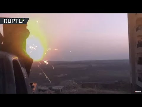 RAW: Syrian Army launches large-scale anti-militant attack across Daraa