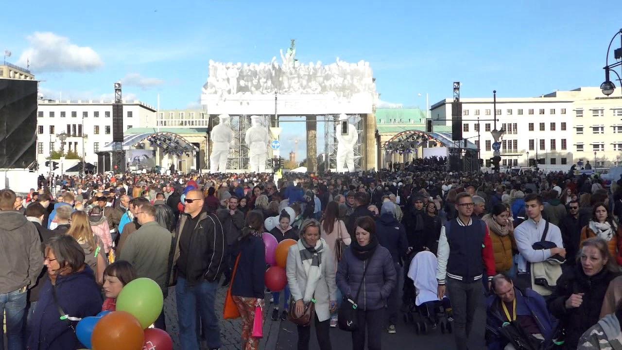 Fest Der Deutschen Einheit 2021