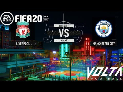 FIFA 20   Liverpool Vs Manchester City - Premier League Volta   Gameplay PC