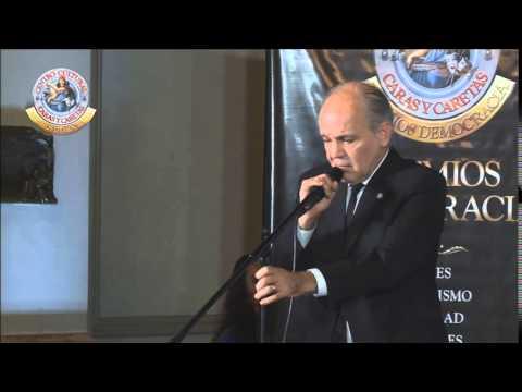 El emotivo discurso de Alejandro Sabella al recordar la final del Mundial - Premios Democracia
