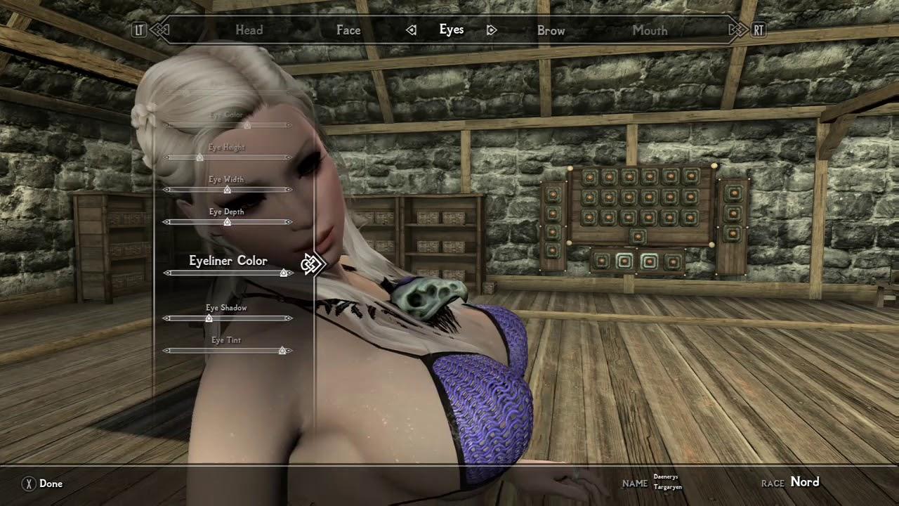 Skyrim special edition XBOX ONE Temperes `temptation` body female work in  progress version by Evander40Child