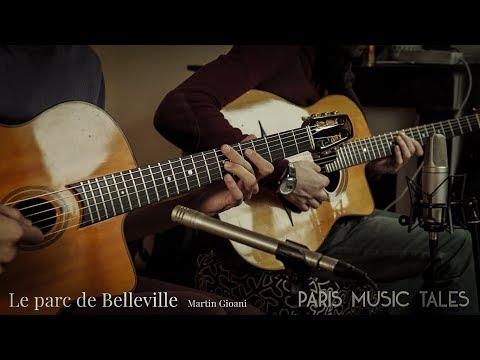 Le parc de Belleville / Paris Music Tales