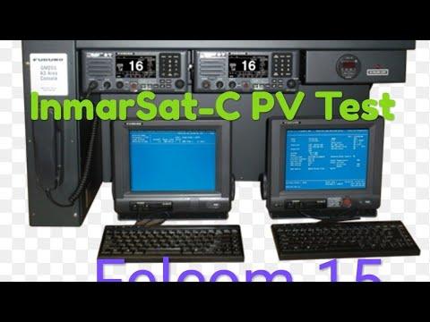INMAR SAT-C PV TEST (FURUNO Felcom15)