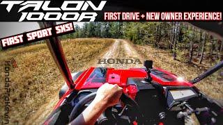 First 2019 Honda TALON 1000R Sport SxS Drive + New Owner = Sideways and Full-Throttle FUN!
