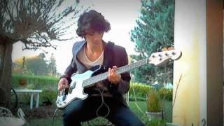 Reptilia - The Strokes [Bass Cover]