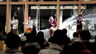 """Vocal Group """"lilt"""" http://liltlilt.web.fc2.com/ 2011/12/25 at Mt.MO..."""