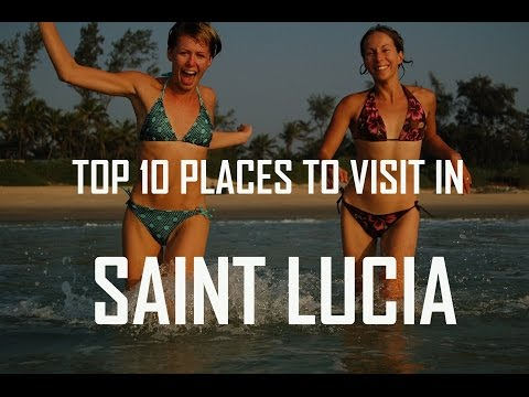 Top 10 Places to Visit in Saint Lucia | St. Lucia Travel Gui