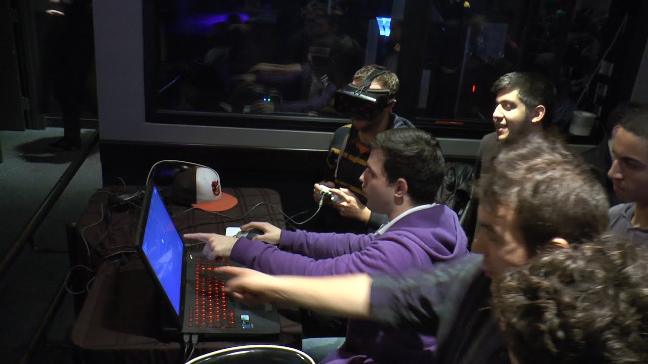 Game Over - Video game event in Boston