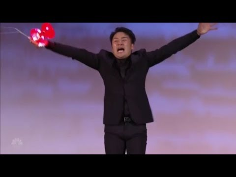 Mochi: Japanese Diabolo Street Performer WINS The Judges Hearts | America's Got Talent 2018