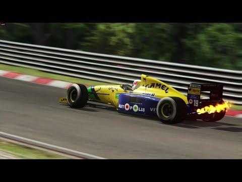 1991 Benetton B191 Nurburgring Nordschleife TVCam
