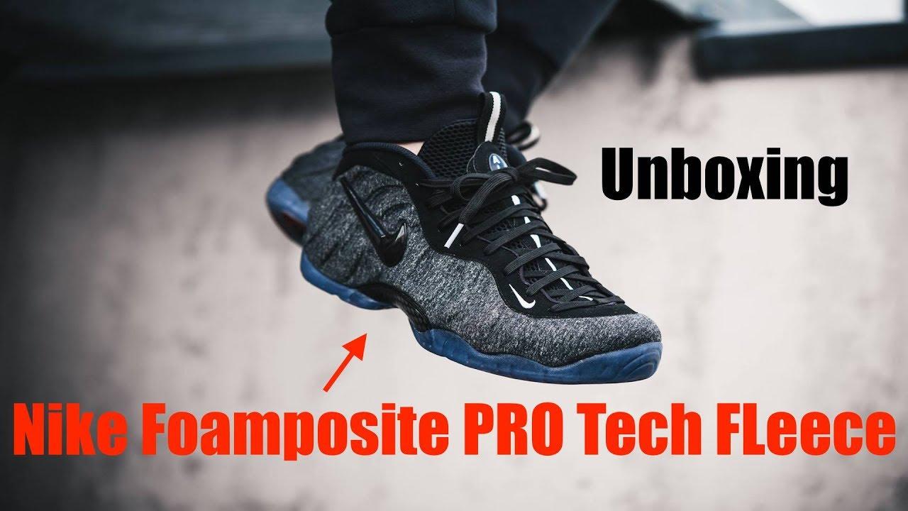 a31f2217332ff1 Nike Air Foamposite PRO Tech Fleece Unboxing!