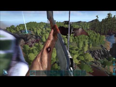 Ark: How To Solo Tranq Your First Quetzal After Flyer Nerf.