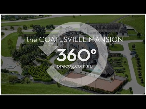 PRECOG: Coatesville Mansion Real Estate Tour (360° Video )