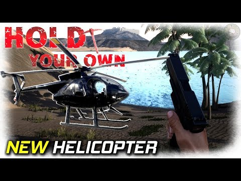 Hunters & Helicopter | Hold Your Own...