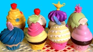 Disney Princess Cupcake Surprise for Elsa & Anna Disney Frozen Party Game