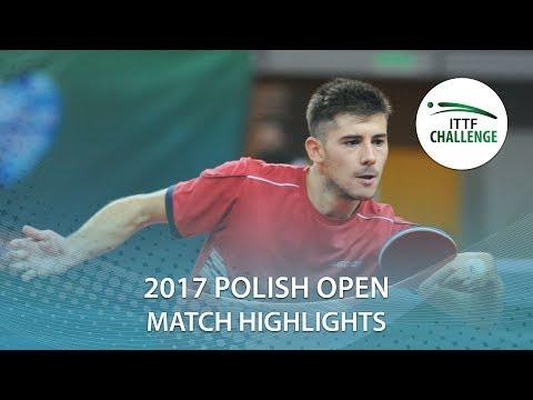 2017 Polish Open Highlights: Kaii Yoshida vs Joao Monteiro (R32)