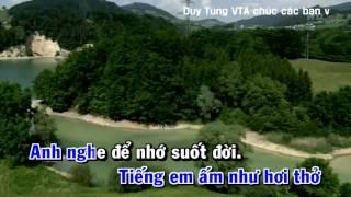 [ Karaoke ] Tình yêu trên dòng sông quan họ