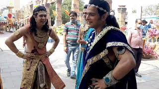 offscreen masti  , radhakrishn shooting time