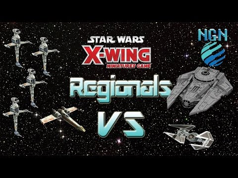 X-Wing Regionals - Game 4: B-Wing (x4) /Z-95 vs Decimator / Interceptor w/Commentary
