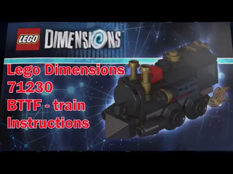 Lego Dimensions 71230 Back To The Future Train Instructions