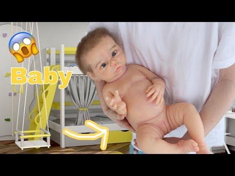 Силиконовая кукла реборн / Full Silicone Baby